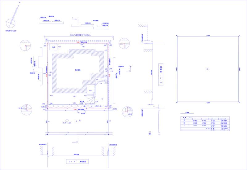 CAD製図見本1