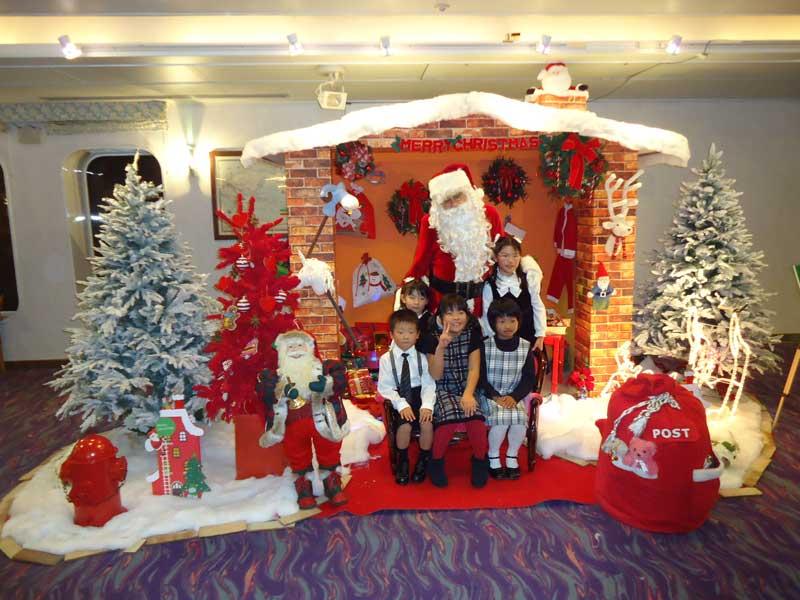 パシフィックビーナス号クルージングクリスマス記念